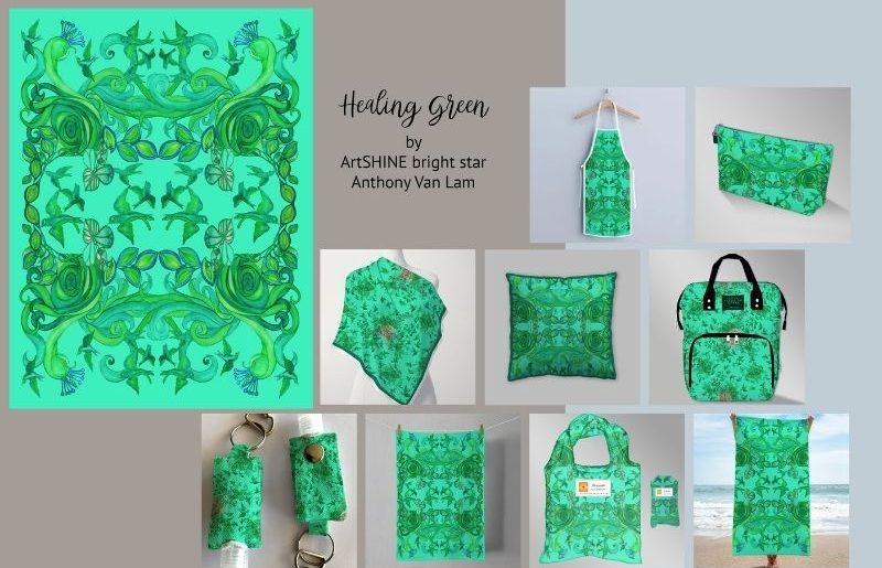 ArtSHINE_Healing Green pg1 by AVL