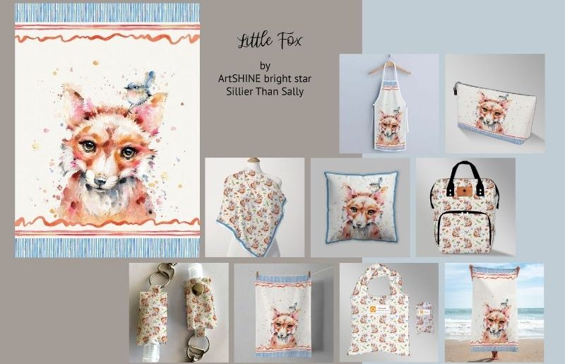 ArtSHINE_Little Fox pg1 by STS