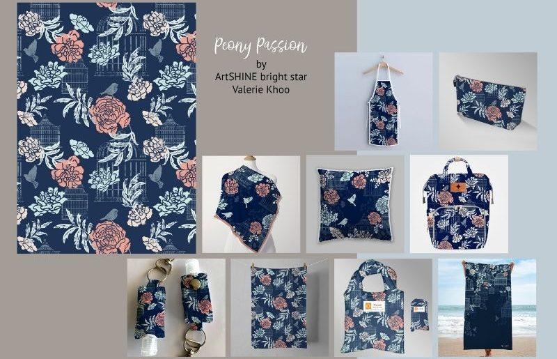 ArtSHINE_Peony Passion pg1 by VK