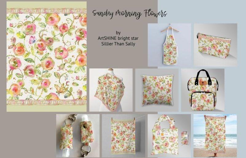 ArtSHINE_Sundays Flowers pg1 by STS